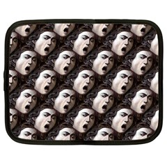 The Head Of The Medusa By Michelangelo Caravaggio 1590 Netbook Case (Large)