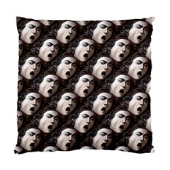 The Head Of The Medusa By Michelangelo Caravaggio 1590 Cushion Case (Two Sides)