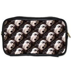 The Head Of The Medusa By Michelangelo Caravaggio 1590 Travel Toiletry Bag (Two Sides)