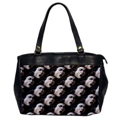 The Head Of The Medusa By Michelangelo Caravaggio 1590 Oversize Office Handbag (One Side)