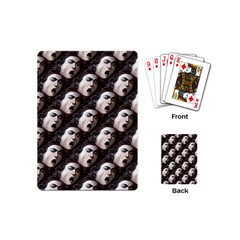 The Head Of The Medusa By Michelangelo Caravaggio 1590 Playing Cards (Mini)