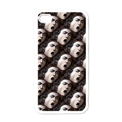 The Head Of The Medusa By Michelangelo Caravaggio 1590 Apple iPhone 4 Case (White)