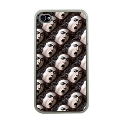The Head Of The Medusa By Michelangelo Caravaggio 1590 Apple iPhone 4 Case (Clear)