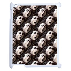 The Head Of The Medusa By Michelangelo Caravaggio 1590 Apple iPad 2 Case (White)