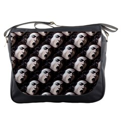 The Head Of The Medusa By Michelangelo Caravaggio 1590 Messenger Bag