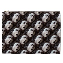 The Head Of The Medusa By Michelangelo Caravaggio 1590 Cosmetic Bag (XXL)