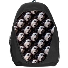 The Head Of The Medusa By Michelangelo Caravaggio 1590 Backpack Bag