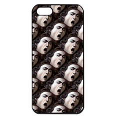The Head Of The Medusa By Michelangelo Caravaggio 1590 Apple iPhone 5 Seamless Case (Black)