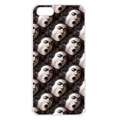 The Head Of The Medusa By Michelangelo Caravaggio 1590 Apple iPhone 5 Seamless Case (White)