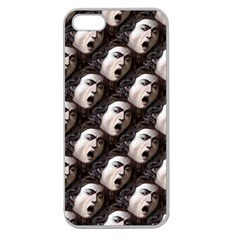 The Head Of The Medusa By Michelangelo Caravaggio 1590 Apple Seamless iPhone 5 Case (Clear)
