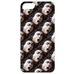 The Head Of The Medusa By Michelangelo Caravaggio 1590 Apple iPhone 5 Classic Hardshell Case