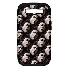 The Head Of The Medusa By Michelangelo Caravaggio 1590 Samsung Galaxy S III Hardshell Case (PC+Silicone)