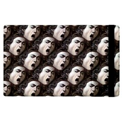 The Head Of The Medusa By Michelangelo Caravaggio 1590 Apple iPad 3/4 Flip Case