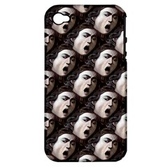 The Head Of The Medusa By Michelangelo Caravaggio 1590 Apple iPhone 4/4S Hardshell Case (PC+Silicone)