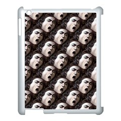 The Head Of The Medusa By Michelangelo Caravaggio 1590 Apple iPad 3/4 Case (White)