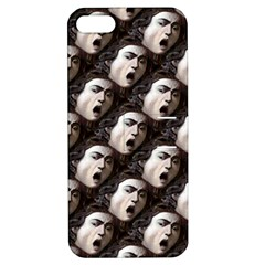 The Head Of The Medusa By Michelangelo Caravaggio 1590 Apple iPhone 5 Hardshell Case with Stand