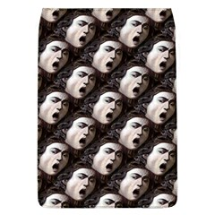The Head Of The Medusa By Michelangelo Caravaggio 1590 Removable Flap Cover (Large)