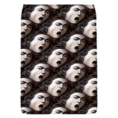 The Head Of The Medusa By Michelangelo Caravaggio 1590 Removable Flap Cover (Small)