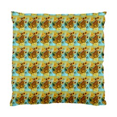 Vase With Twelve Sunflowers By Vincent Van Gogh 1889  Cushion Case (One Side)