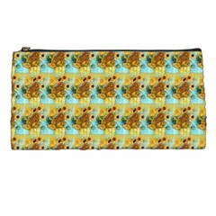 Vase With Twelve Sunflowers By Vincent Van Gogh 1889  Pencil Case