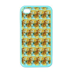 Vase With Twelve Sunflowers By Vincent Van Gogh 1889  Apple iPhone 4 Case (Color)