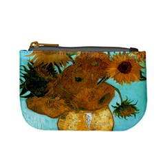 Vase With Twelve Sunflowers By Vincent Van Gogh 1889  Coin Change Purse