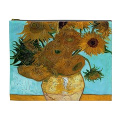 Vase With Twelve Sunflowers By Vincent Van Gogh 1889  Cosmetic Bag (XL)
