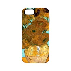 Vase With Twelve Sunflowers By Vincent Van Gogh 1889  Apple iPhone 5 Classic Hardshell Case (PC+Silicone)