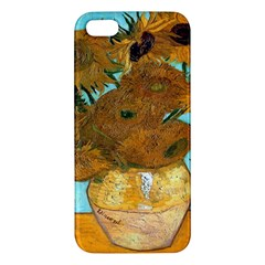 Vase With Twelve Sunflowers By Vincent Van Gogh 1889  iPhone 5 Premium Hardshell Case