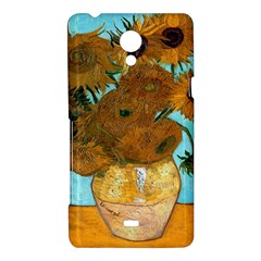 Vase With Twelve Sunflowers By Vincent Van Gogh 1889  Sony Xperia T Hardshell Case