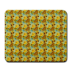 Vase With Twelve Sunflowers By Vincent Van Gogh 1889  Large Mouse Pad (Rectangle)
