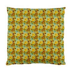 Vase With Twelve Sunflowers By Vincent Van Gogh 1889  Cushion Case (Two Sides)