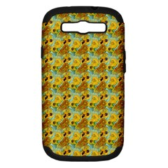 Vase With Twelve Sunflowers By Vincent Van Gogh 1889  Samsung Galaxy S III Hardshell Case (PC+Silicone)