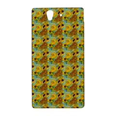 Vase With Twelve Sunflowers By Vincent Van Gogh 1889  Sony Xperia Z L36H Hardshell Case