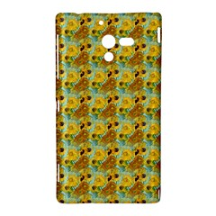 Vase With Twelve Sunflowers By Vincent Van Gogh 1889  Sony Xperia ZL L35H Hardshell Case