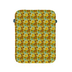 Vase With Twelve Sunflowers By Vincent Van Gogh 1889  Apple iPad 2/3/4 Protective Soft Case