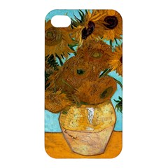Vase With Twelve Sunflowers By Vincent Van Gogh 1889  Apple iPhone 4/4S Hardshell Case