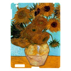 Vase With Twelve Sunflowers By Vincent Van Gogh 1889  Apple iPad 3/4 Hardshell Case