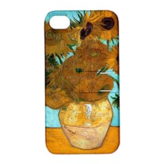 Vase With Twelve Sunflowers By Vincent Van Gogh 1889  Apple iPhone 4/4S Hardshell Case with Stand