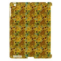 Vase With Twelve Sunflowers By Vincent Van Gogh 1889 Apple iPad 3/4 Hardshell Case (Compatible with Smart Cover)