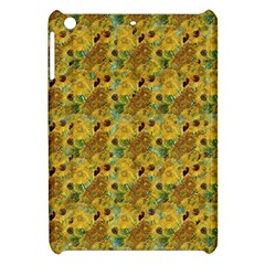 Vase With Twelve Sunflowers By Vincent Van Gogh 1889 Apple iPad Mini Hardshell Case