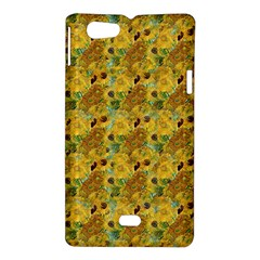 Vase With Twelve Sunflowers By Vincent Van Gogh 1889 Sony Xperia Miro Hardshell Case