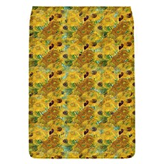 Vase With Twelve Sunflowers By Vincent Van Gogh 1889 Removable Flap Cover (Small)