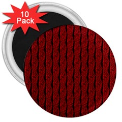 Vintage Brain 3  Button Magnet (10 pack)