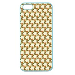 Vintage Flowers Apple Seamless iPhone 5 Case (Color)