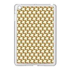 Vintage Flowers Apple iPad Mini Case (White)