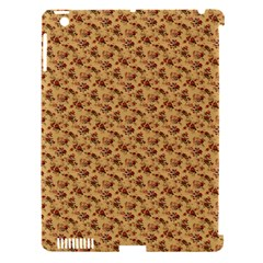 Vintage Flowers Apple iPad 3/4 Hardshell Case (Compatible with Smart Cover)