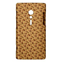 Vintage Flowers Sony Xperia ion Hardshell Case