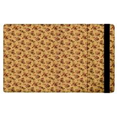Vintage Flowers Apple iPad 2 Flip Case