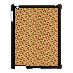 Vintage Flowers Apple iPad 3/4 Case (Black)